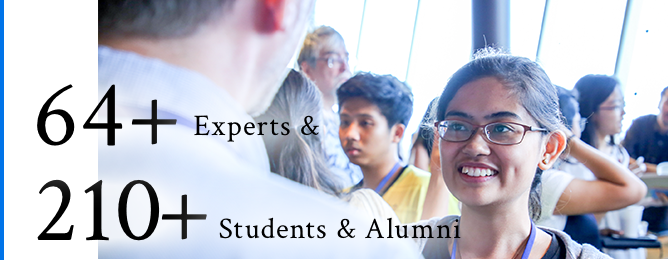 64+ Experts & 210+ Students & Alumni